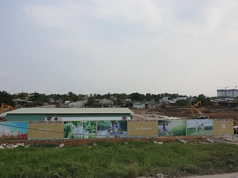Dự án Senturia Nam Sài Gòn: Chưa đền bù xong đã phân lô, bán nền?