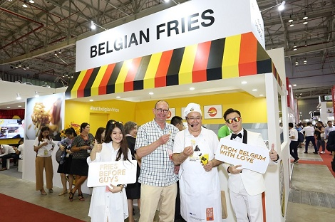 """Thị trường khoai tây Việt Nam sôi động khi có sự đổ bộ 5 """"ông lớn"""" từ Bỉ"""