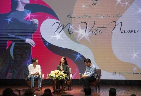Đinh Hiền Anh ra mắt dự án tâm huyết Mẹ Việt Nam dịp Đại lễ