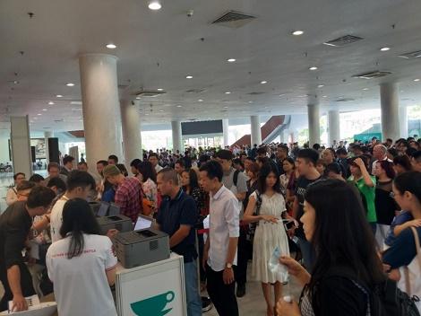 Hàng ngàn khách tham quan Café Show 2019 trong ngày đầu khai mạc