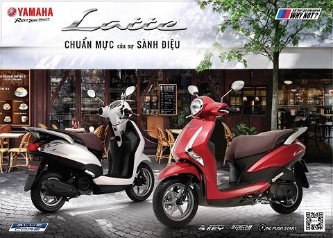 Xe tay ga Yamaha Latte – Chuẩn mực của sự sành điệu