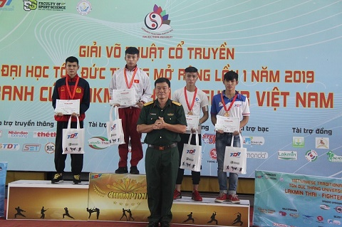 Đại học Tôn Đức Thắng - Bế mạc giải võ thuật cổ truyền với 283 huy chương được trao