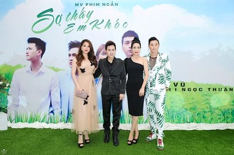 Dàn sao Việt đến chúc mừng Nguyên Vũ ra mắt sản phẩm mới
