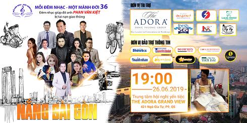 """Mỗi đêm nhạc một mảnh đời số 36 với chủ đề """"Nắng Sài Gòn"""": Giúp anh Phan Văn Kiệt bị tai nạn lao động"""