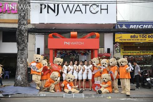 TP.HCM: Khai trương PNJ Watch với chế độ bảo hành lên đến 10 năm
