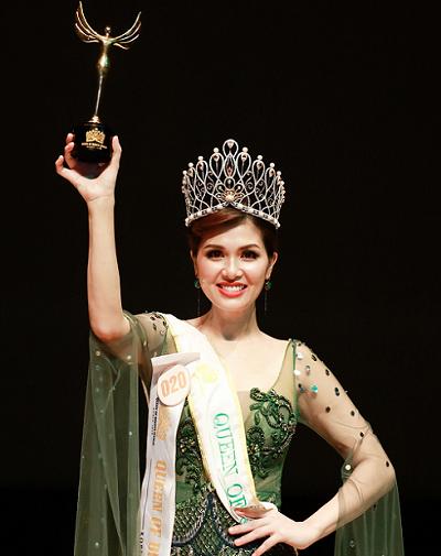 Oanh Yến xuất sắc đăng quang Queen of Beauty World 2019 tại Hàn Quốc
