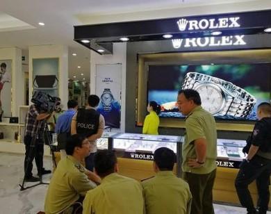 Phát hiện lô hàng giả nhãn hiệu nổi tiếng trị giá gần 100 tỷ trong trung tâm mua sắm