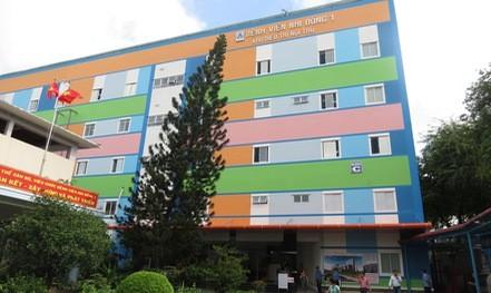 Bệnh viện Nhi Đồng 1 thêm khu điều trị, đăng ký khám bệnh qua app