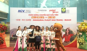 Vietjet mở đường bay thẳng Nha Trang - Busan