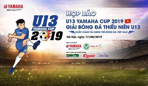 """Yamaha Motor Việt Nam tổ chức """"Giải bóng đá Thiếu niên U13 Yamaha Cup 2019"""" kết hợp cùng chương trình """"Quà tặng mũ bảo hiểm Yamaha 2019"""" dành cho trẻ"""