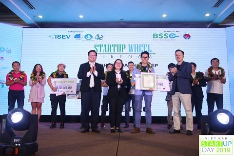 Chung kết và trao giải Startup Wheel 2019