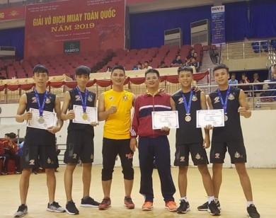 Công ty Phú Hồng Thịnh đồng hành cùng thành công của Đội tuyển Muay Thái MMA FIGHT ACADEMY