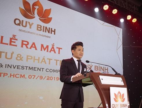 Nghệ sỹ Quý Bình ra mắt công ty đa ngành nghề