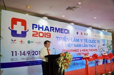Chính thức khai mạc Triển lãm Y tế Quốc tế Việt Nam 2019