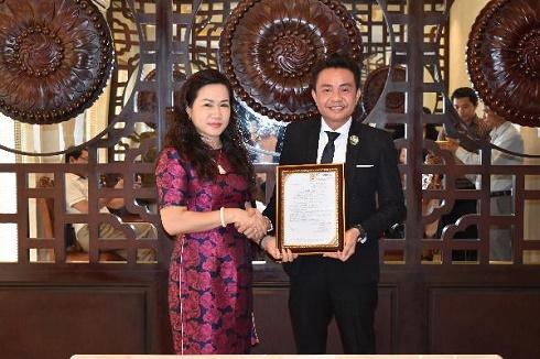 Doanh nhân Trương Văn Tiễn được bổ nhiệm làm Phó Chủ tịch CLB Doanh nhân Việt Nam