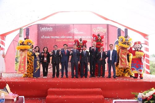 Đà Lạt: Khai trương Hầm Vang chuẩn Châu Âu đầu tiên tại Việt Nam